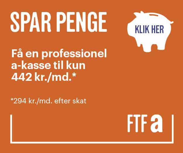 FTFa » tværfaglig a-kasse med services i høj kvalitet