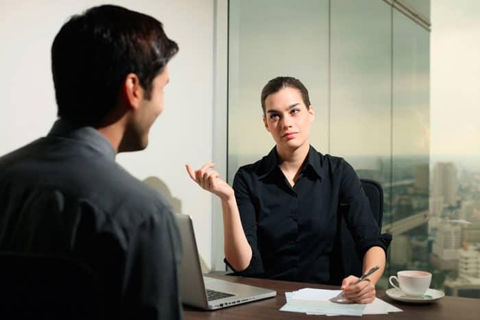 Få herunder gode råd til jobsamtalen
