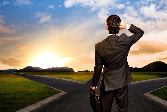 Overvej grundigt, om du lige nu befinder dig på den rette faglige hylde - hvilke veje har du taget tidligere i livet?
