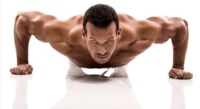 Med hård og gentagende træning kommer den flotte krop - eller i dette tilfælde den nødvendige arbejdsglæde