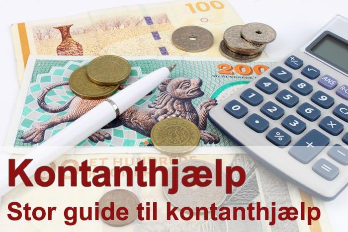 Kontanthjælp >> Komplet guide >> Satser for kontanthjælp og mm.